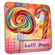 Interrupteur déco Lolli Pops simple - DKO Interrupteur