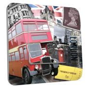 Interrupteur déco London bus simple - DKO Interrupteur