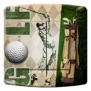 Interrupteur déco Sports / Golf double - DKO Interrupteur