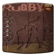 Interrupteur déco Sports / Rugby double poussoir - DKO Interrupteur