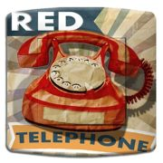 Interrupteur déco Vintage / Red Phone simple - DKO Interrupteur