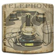 Interrupteur déco Vintage / Retro Phone simple - DKO Interrupteur