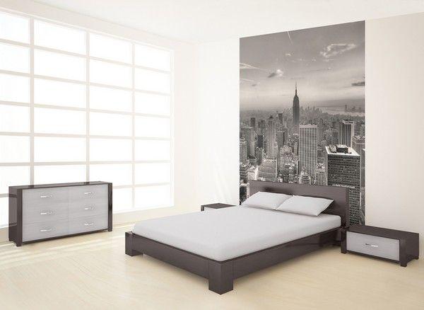 papier peint new york. Black Bedroom Furniture Sets. Home Design Ideas
