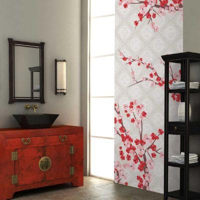 papier peint largeur unique d cor floraison d coration. Black Bedroom Furniture Sets. Home Design Ideas