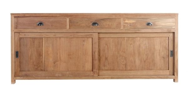 Buffet Teck Authentic Portes Coulissantes - Buffet portes coulissantes