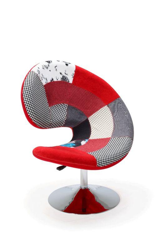 Fauteuil Arabesque Design Patchwork - Fauteuil patchwork design