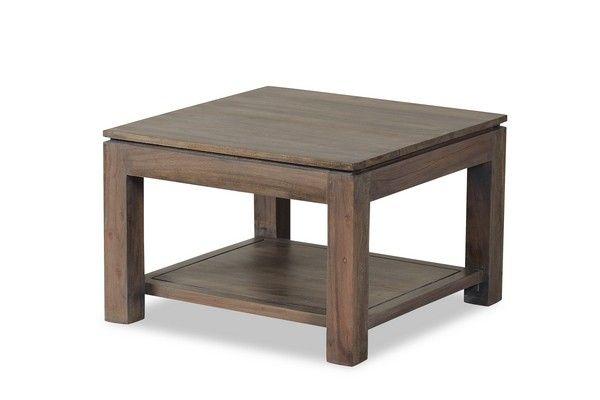 table basse acacia massif mara cendr 60. Black Bedroom Furniture Sets. Home Design Ideas