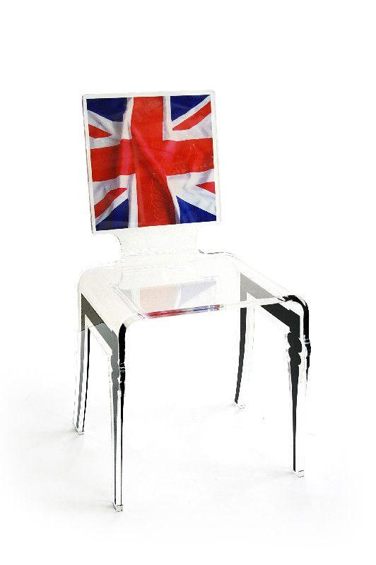 chaise acrylique graph pieds plexi flag mobilier. Black Bedroom Furniture Sets. Home Design Ideas