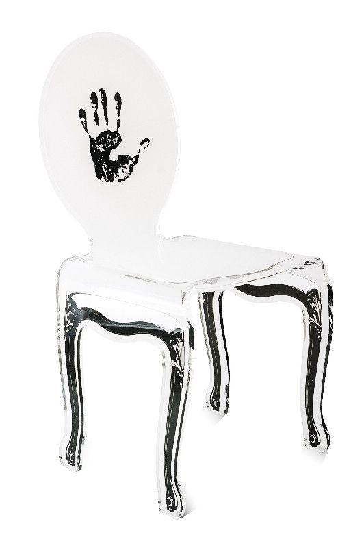 chaise acrylique let 39 s rock empreinte mobilier. Black Bedroom Furniture Sets. Home Design Ideas