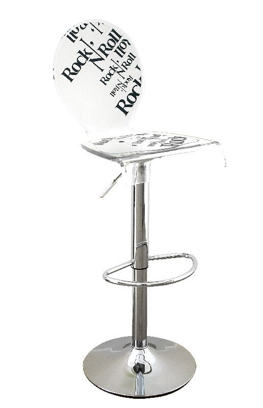 tabouret acrylique letus rock rock nuroll pied rglable acrila with pied de bar reglable. Black Bedroom Furniture Sets. Home Design Ideas