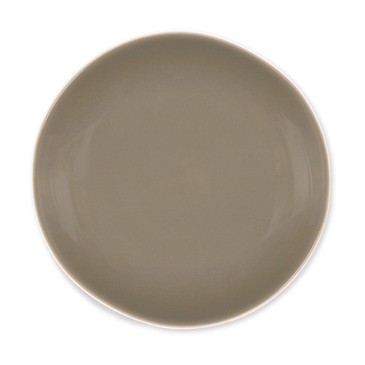 Assiette dessert ronde gr s terana vison bruno evrard for Decoration a l assiette