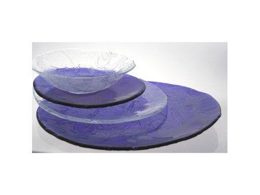 assiette dessert verre fruit de mer bleue art de la table. Black Bedroom Furniture Sets. Home Design Ideas