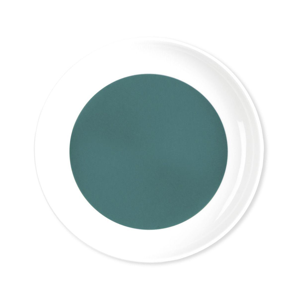 assiette dessert porcelaine louison bleu canard. Black Bedroom Furniture Sets. Home Design Ideas