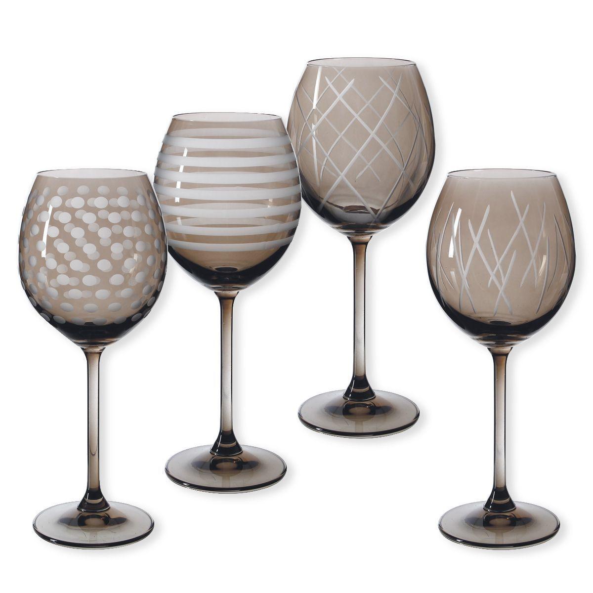 bo te de 4 verres vin quorus vison bruno evrard cr ation. Black Bedroom Furniture Sets. Home Design Ideas