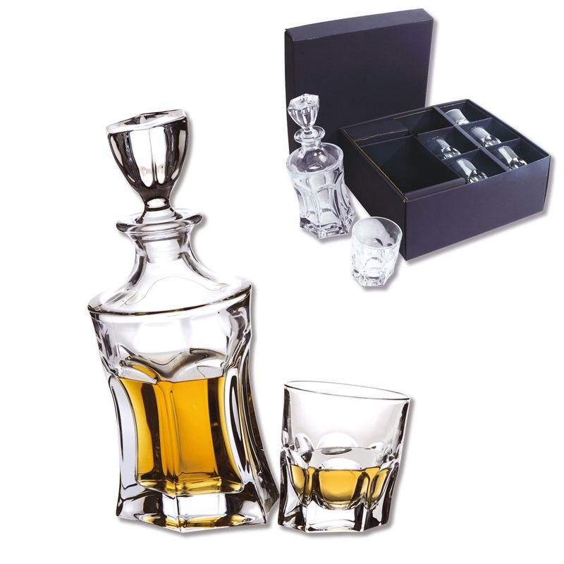 coffret carafe verres whisky acapulco 7 pi ces art de la table. Black Bedroom Furniture Sets. Home Design Ideas