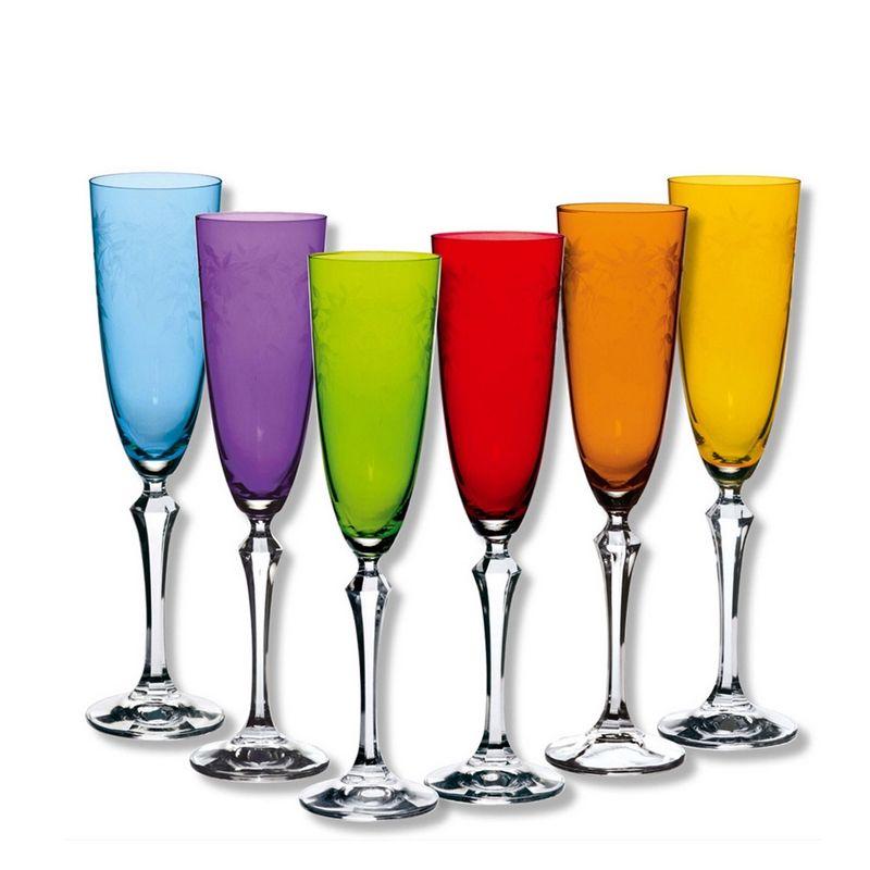 fl te champagne elisabeth coloris assortis art de la table. Black Bedroom Furniture Sets. Home Design Ideas