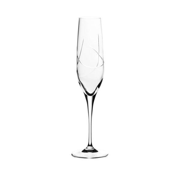 flute a champagne cristal