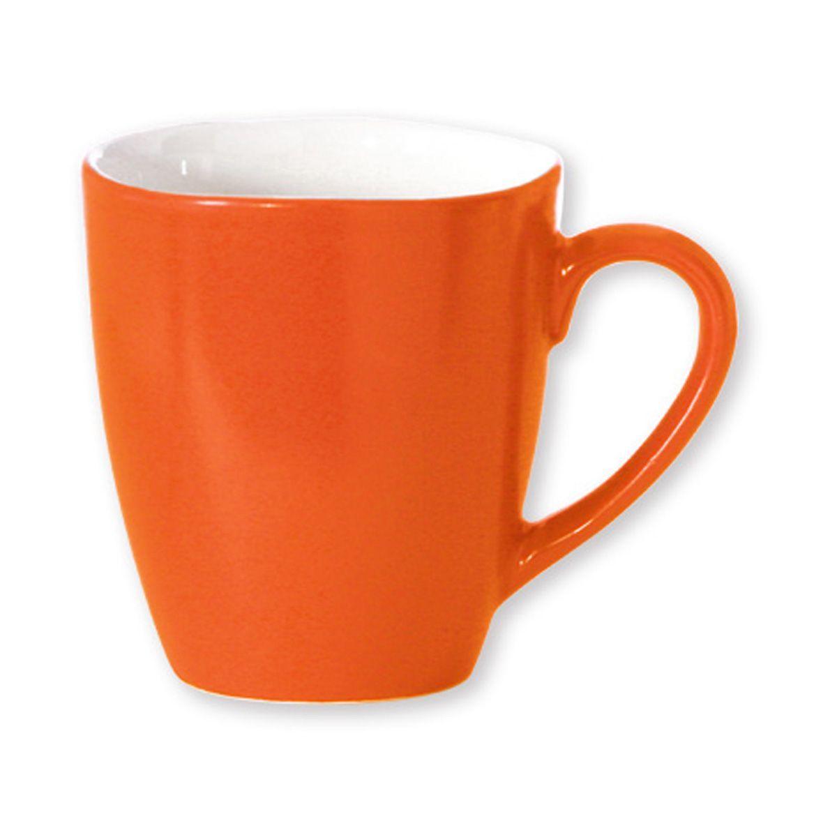 Mug terana orange ext rieur bruno evrard cr ation for Table exterieur orange