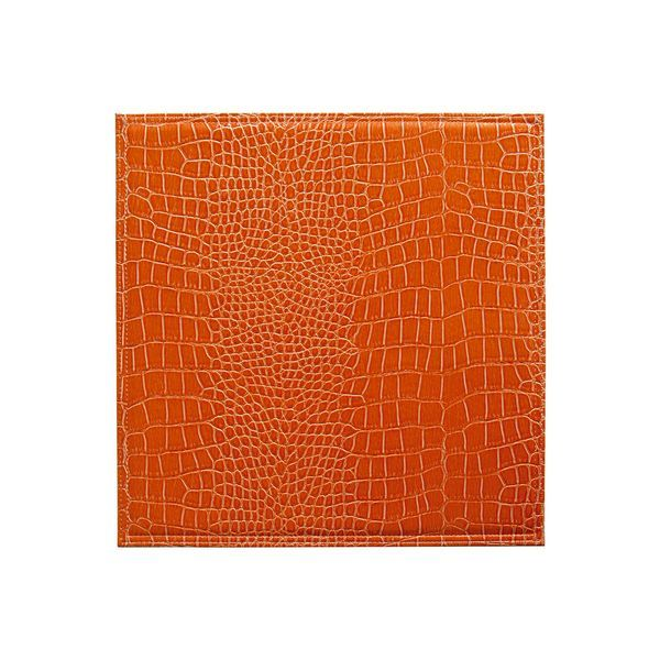 Set de table plastique shiny orange set de 6 bruno - Set de table polypropylene ...