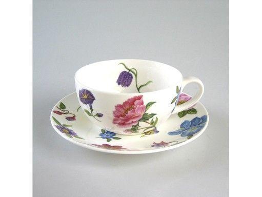 tasse d jeuner porcelaine floribunda art de la table. Black Bedroom Furniture Sets. Home Design Ideas