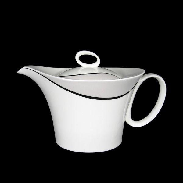 th i re porcelaine wave art de la table. Black Bedroom Furniture Sets. Home Design Ideas