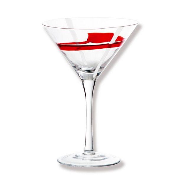 Verre cocktail studio rouge blanc bruno evrard cr ation - Cocktail scandinave livraison ...