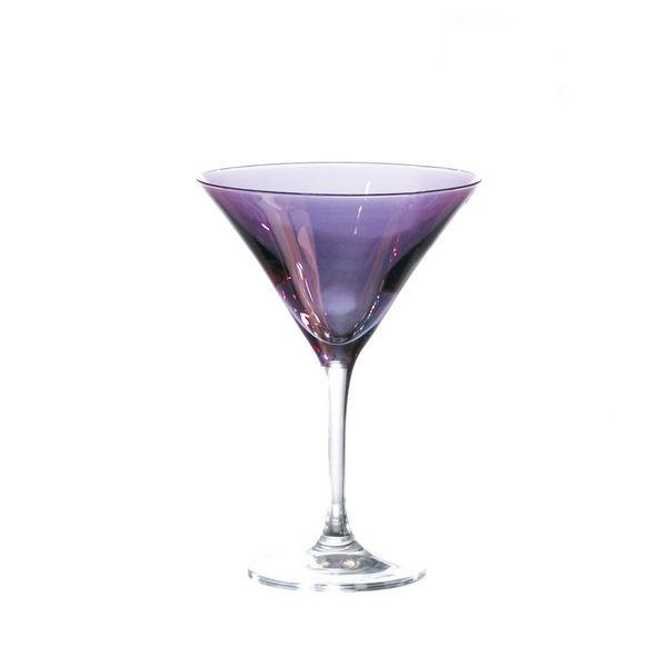 verre cocktail saga lustre violet art de la table. Black Bedroom Furniture Sets. Home Design Ideas