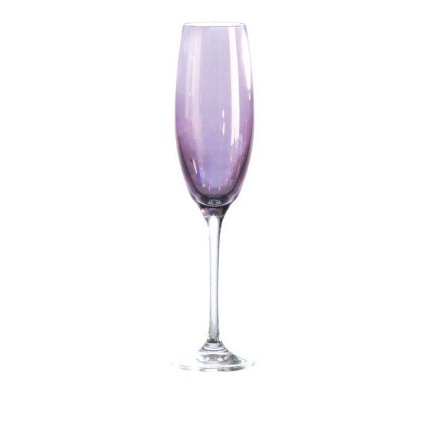 verre fl te saga lustre violet bruno evrard cr ation. Black Bedroom Furniture Sets. Home Design Ideas