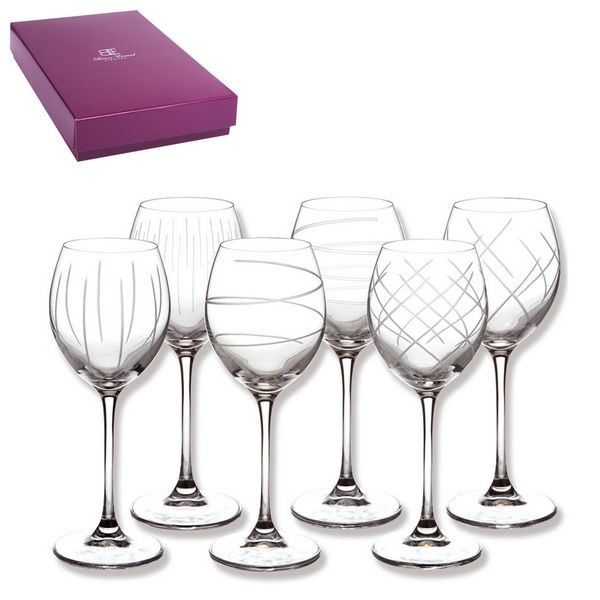 verres vin saga 2 coffrets de 6 bruno evrard cr ation. Black Bedroom Furniture Sets. Home Design Ideas