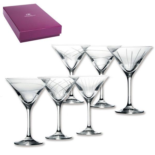 verres cocktail saga 2 coffrets de 6 art de la table. Black Bedroom Furniture Sets. Home Design Ideas