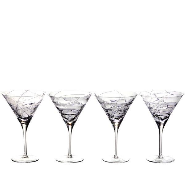 verres cocktail design spider violet set de 4 bruno evrard cr ation. Black Bedroom Furniture Sets. Home Design Ideas