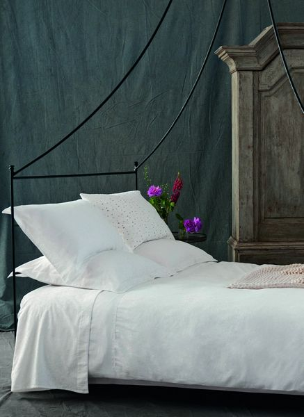 housse de couette belle de nuit percale 140x200 nina ricci maison. Black Bedroom Furniture Sets. Home Design Ideas