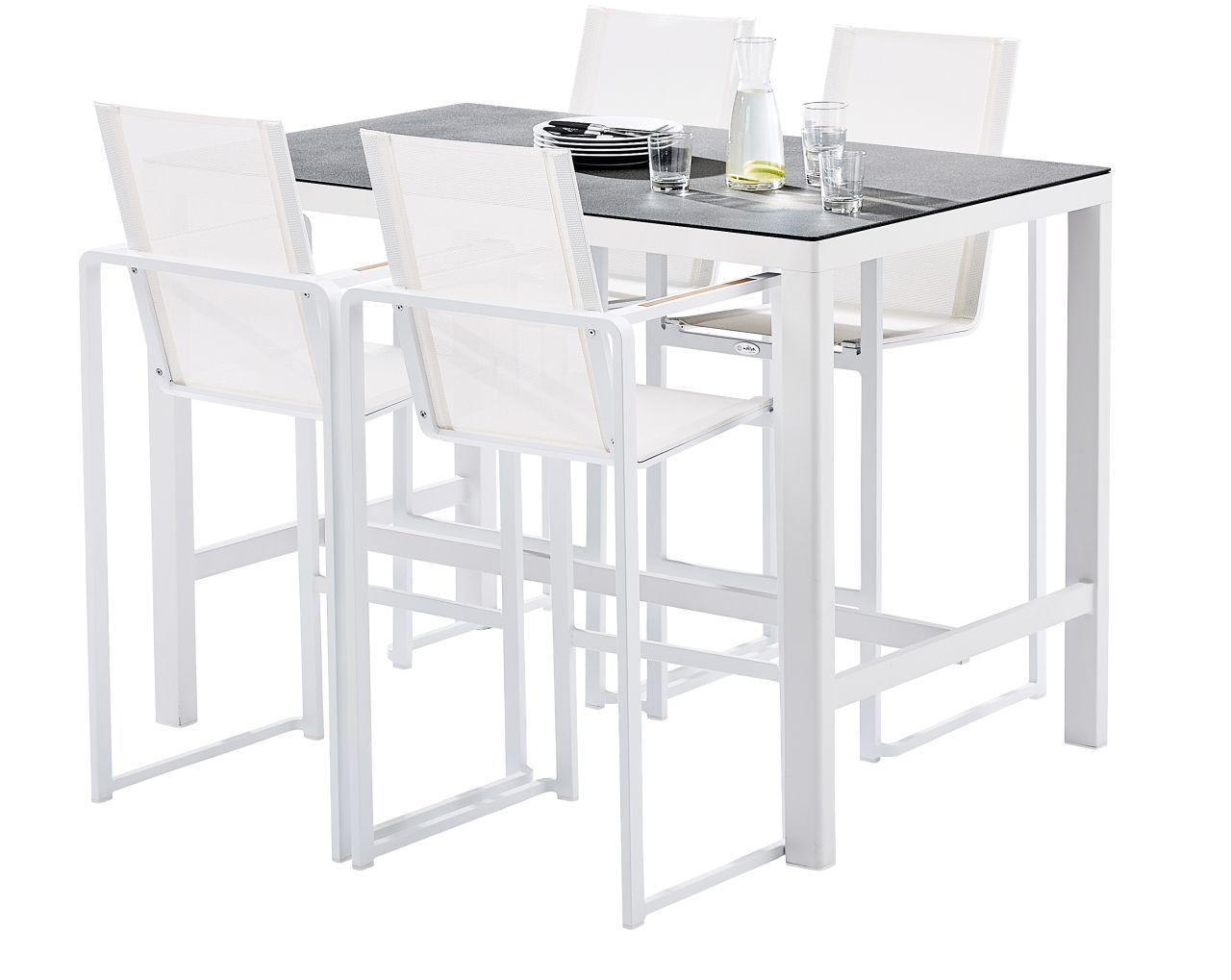 ensemble bar de jardin teck star 4 fauteuils wilsa garden. Black Bedroom Furniture Sets. Home Design Ideas