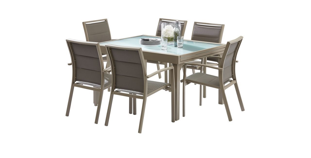 Salon de jardin fer forg leroy merlin for Leroy merlin table jardin