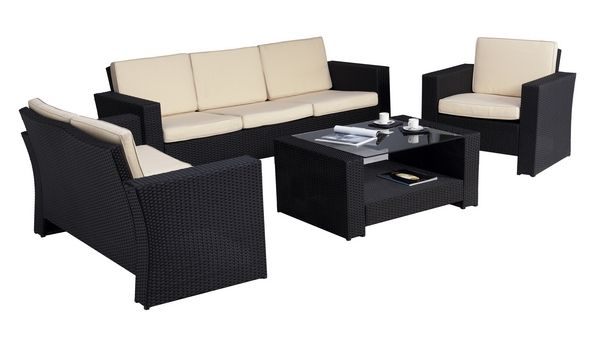salon de jardin confort 6 places wilsa garden. Black Bedroom Furniture Sets. Home Design Ideas