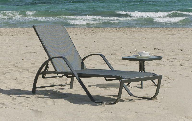 bain de soleil aluminium bonaire coloris gris meubles de jardin. Black Bedroom Furniture Sets. Home Design Ideas
