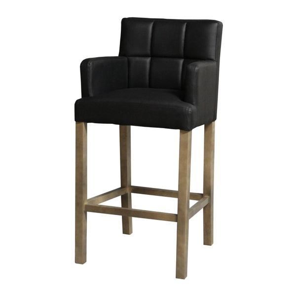 tabourets de cuisine tabouret de bar noir avec plus. Black Bedroom Furniture Sets. Home Design Ideas