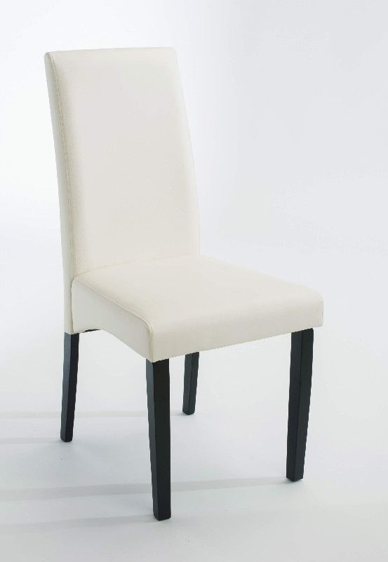 Chaise Hevea Alison Tissu Blanc