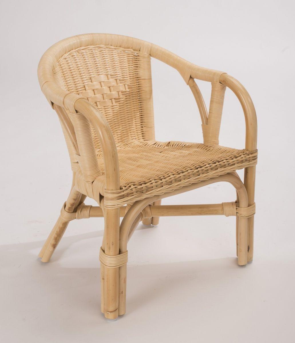 chaise rotin eddy naturel vernis satin mobilier decotaimefr - Chaise En Rotin