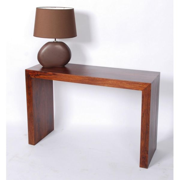 console palissandre couloir 116 mobilier. Black Bedroom Furniture Sets. Home Design Ideas