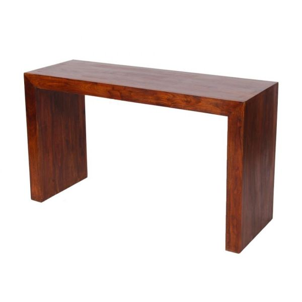 Console palissandre massif hong kong l132 for Table en palissandre massif
