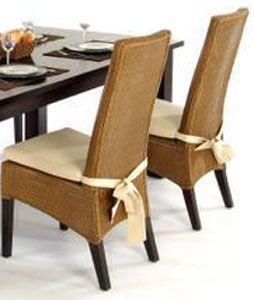 coussin de chaise ines. Black Bedroom Furniture Sets. Home Design Ideas