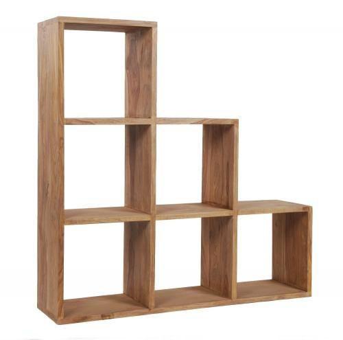 etag re meuble escalier sheesham naturel mobilier. Black Bedroom Furniture Sets. Home Design Ideas