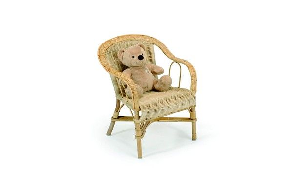 fauteuil enfant rotin crapaud naturel mobilier. Black Bedroom Furniture Sets. Home Design Ideas