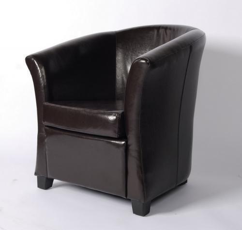 fauteuil cuir club chocolat mobilier. Black Bedroom Furniture Sets. Home Design Ideas