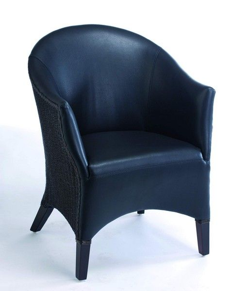 fauteuil loom luigi weng noir mobilier. Black Bedroom Furniture Sets. Home Design Ideas