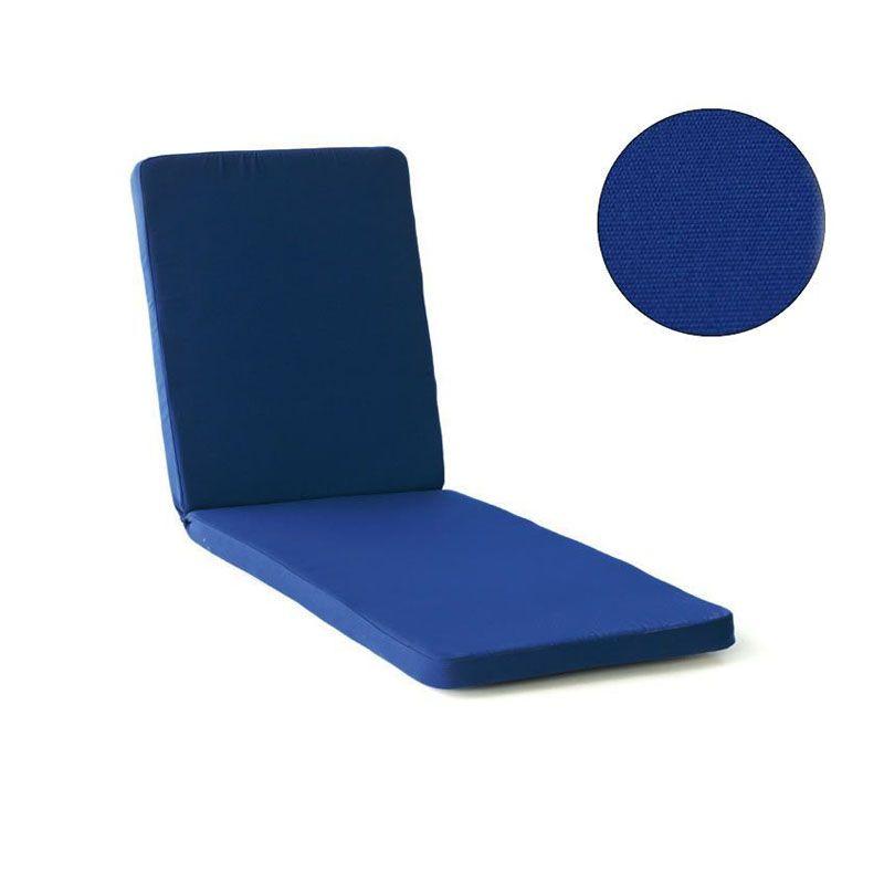 lot de 4 coussins bain de soleil h v a cojin bleu marine. Black Bedroom Furniture Sets. Home Design Ideas