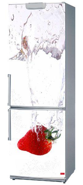 Magnet r frig rateur funny fraise 60x150 for Miroir 60x150
