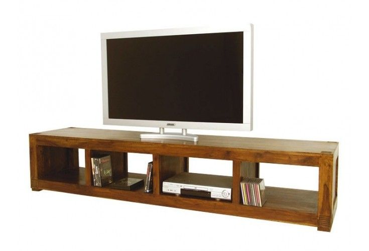 meuble tv plasma palissandre massif tanga mobilier. Black Bedroom Furniture Sets. Home Design Ideas
