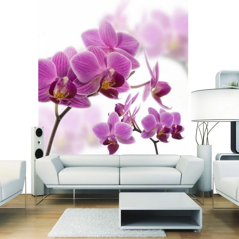 papier peint intiss fleur zen 250x250. Black Bedroom Furniture Sets. Home Design Ideas